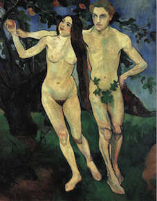 Suzanne Valadon, Adam and Eve