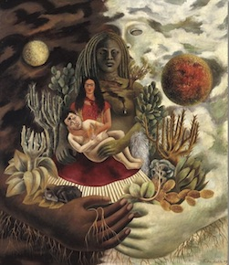 Frida Kahlo, The Loving Embrace of the Universe, the Land, Myself, Diego and Lord Xólotl